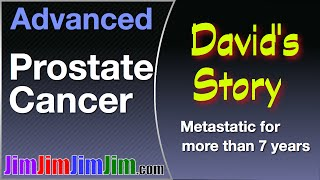 David's story - 7 years with metastatic prostate cancer