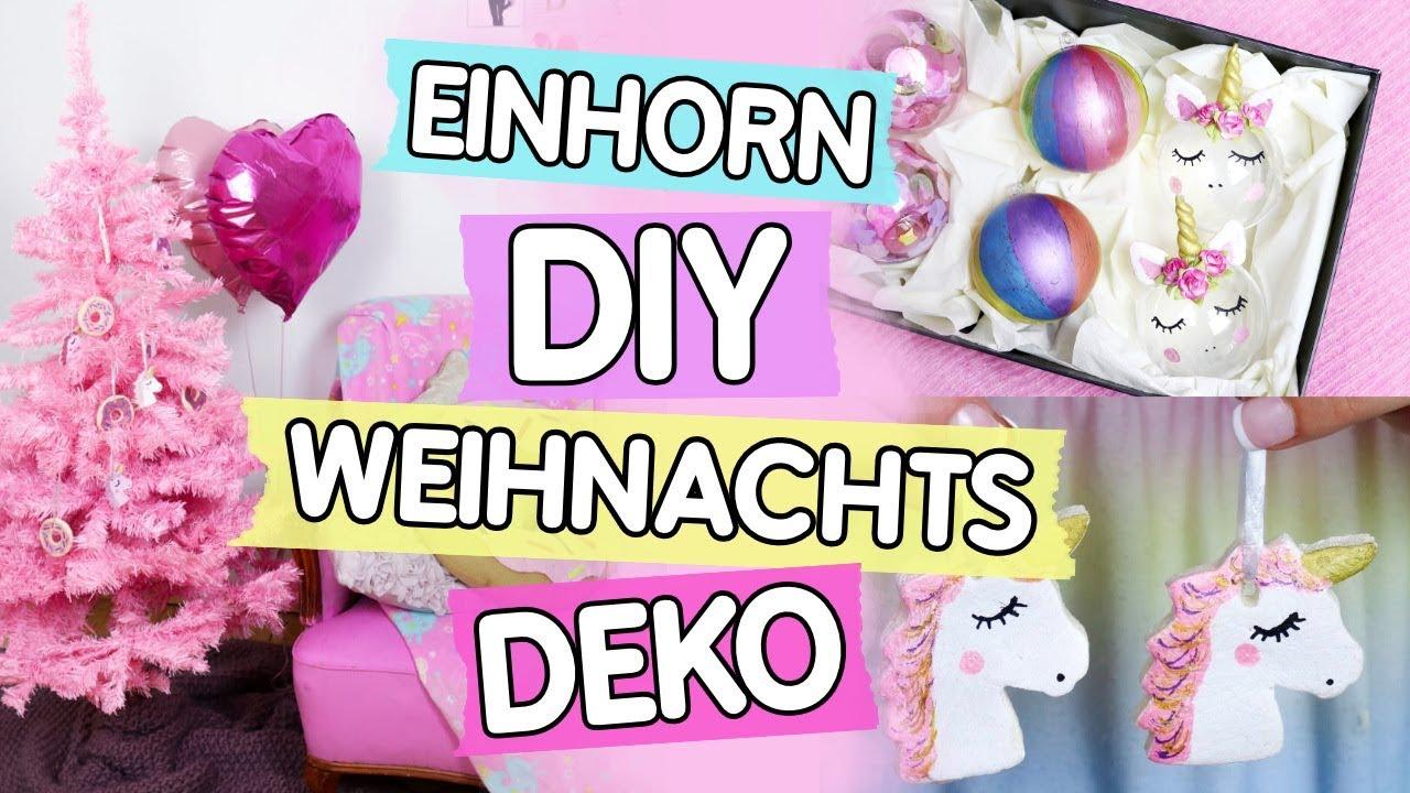 diy deko ideen f r weihnachten selber machen verr ckte einhorn deko youtube. Black Bedroom Furniture Sets. Home Design Ideas