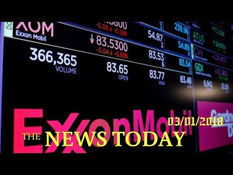 Exxon Quits Russian Joint Ventures, Cites U.S. And EU Sanctions | News Today | 03/01/2018 | Don...