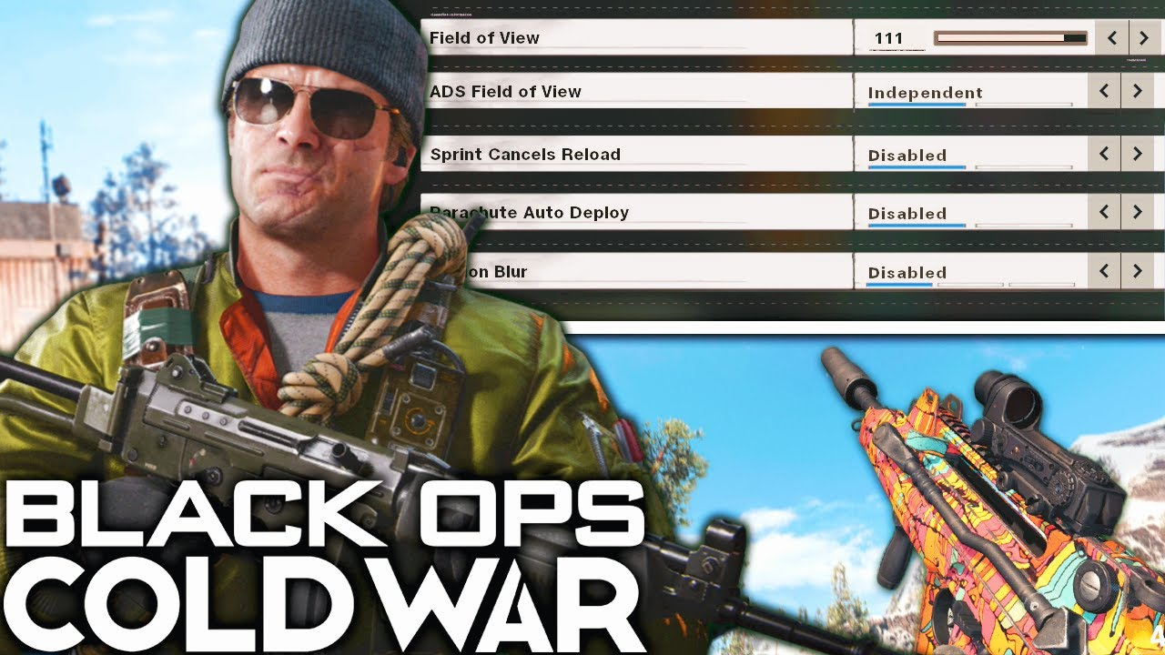 Black Ops Cold War: The BEST SETTINGS That Make A HUGE DIFFERENCE! (Cold War Best Settings)