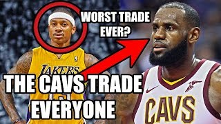 Cavs TRADE Isaiah Thomas To The Lakers! The WORST NBA Trade Of All Time?