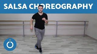 EASY Salsa Choreography - BASIC STEPS