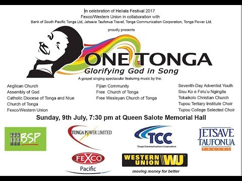 One Tonga - Glorifying God in Song - Heilala Festival