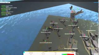 Insane Missiouri Vs Kamrikish EPIC FIGHT! Roblox: Naval Command