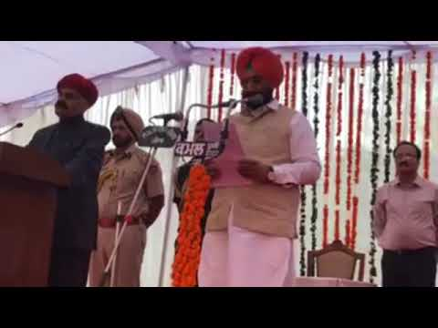 Watch: Nine new ministers inducted into Capt Amarinder Singh govt.