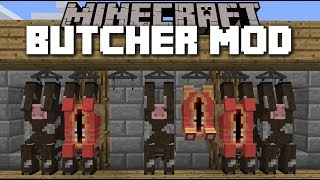 minecraft butcher mod kill cows and make a wonderful bbq minecraft