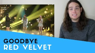 Download Voice Teacher Reacts to Red Velvet - Goodbye | 레드벨벳 - 안녕 [Immortal Songs 2] Mp3