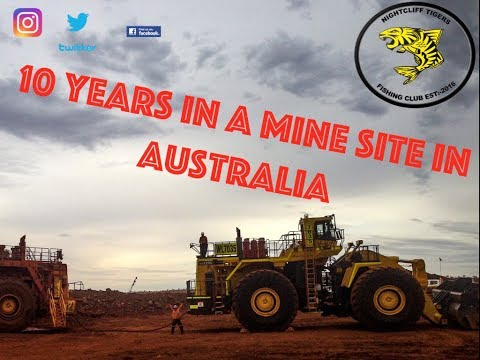 What's Life Like In A Australian Mining Camp ? #MINING #pilbara #desert #life