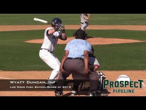 Wyatt Duncan, Los Osos High School Class of 2019, Home Run vs Etiwanda