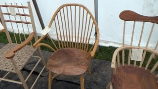 Handmade Stools and Chairs - Competition Entries.