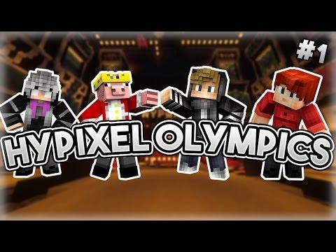 Hypixel Olympics: Part One w/ Zyper, iBeaturscore & TheBestGinger13