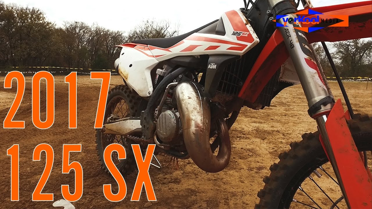 2017 ktm 125 sx test ride two stroke fun youtube. Black Bedroom Furniture Sets. Home Design Ideas