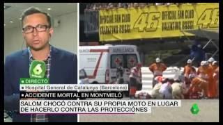 Luis Salom trágica muerte en la curva Nº12