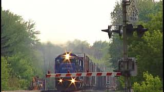 Conrail in Northeast Ohio Two Weeks Before the Split