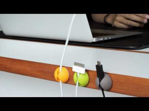 CableDrop Multi-Purpose Cable Clips