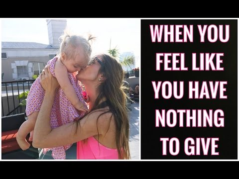 The One Question That Will Change Your Life - Encouragement for when you have nothing to give.