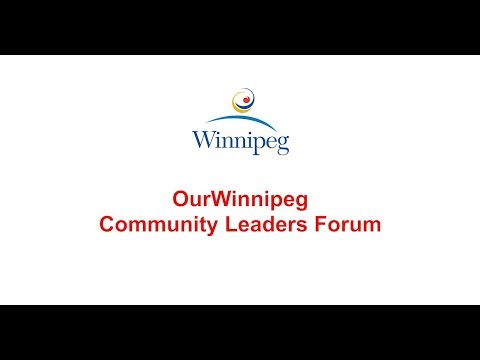 OurWinnipeg Community Leaders Forum