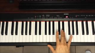 Tuto - Hit the road Jack - Accompagnement piano