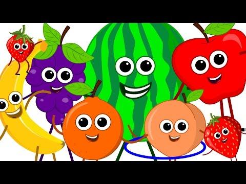 the fruits song | learn fruits | nursery rhymes | original song | kids songs