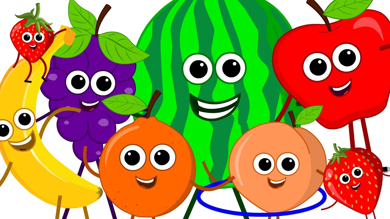the fruits song learn fruits nursery rhymes original song kids