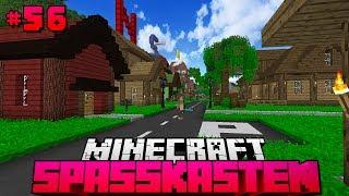 100% FERTIGE STADT?! - Minecraft Spasskasten #56 [Deutsch/HD]