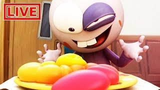 Spookiz LIVE 🔴 | Livestream Cartoon | Time to Eat | 스푸키즈 | Kids Cartoon | Videos for Kids