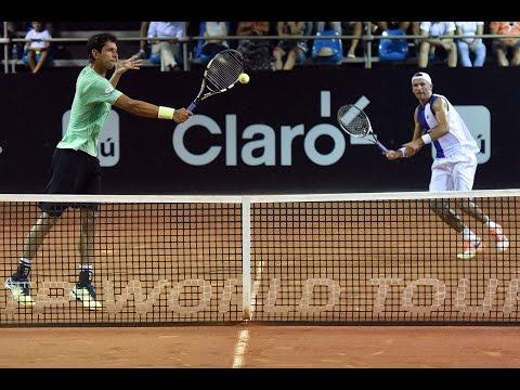Lukasz Kubot / Marcelo Melo v Julio Peralta / Horacio Zeballos HIGHLIGHTS ATP Rio Open 2017