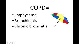 Lecture 19 Chronic obstructive pulmonary disease COPD I