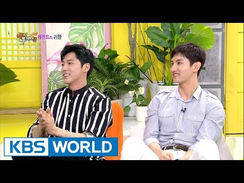 Congratulations TVXQ on getting off the military!!! [Happy Together / 2017.10.12]