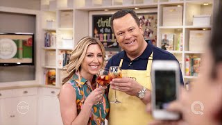 In the Kitchen with David Venable  - Behind the Scenes with Stacey Stauffer