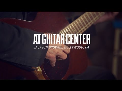 Jackson Browne At Guitar Center