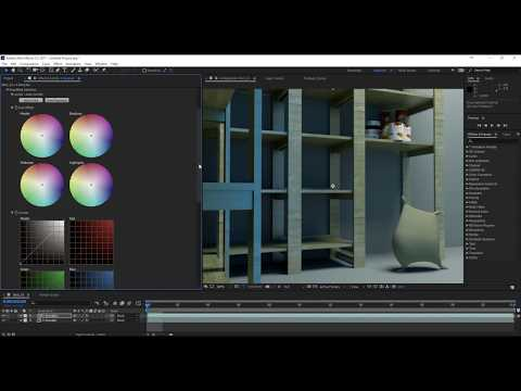 Cleaning a Noisy Arnold Render In After Effects