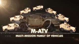 Oshkosh Defense - MRAP All-Terrain Vehicle (M-ATV) Multi-Mission Family Of Vehicles [720p]