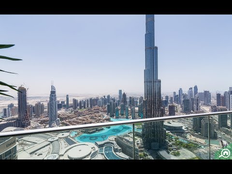 House Of The Week: A Fascinating Contemporary 5-Bed Penthouse Apartment Facing Burj Khalifa