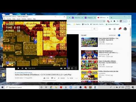sonic 3 debug mode fun :)