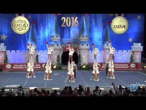 Rutgers University D1A All Girl Cheer Finals 2016