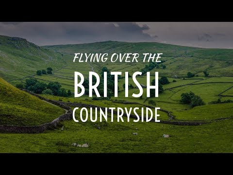 Flying over the British Countryside | Cinematic DJI Drone Film