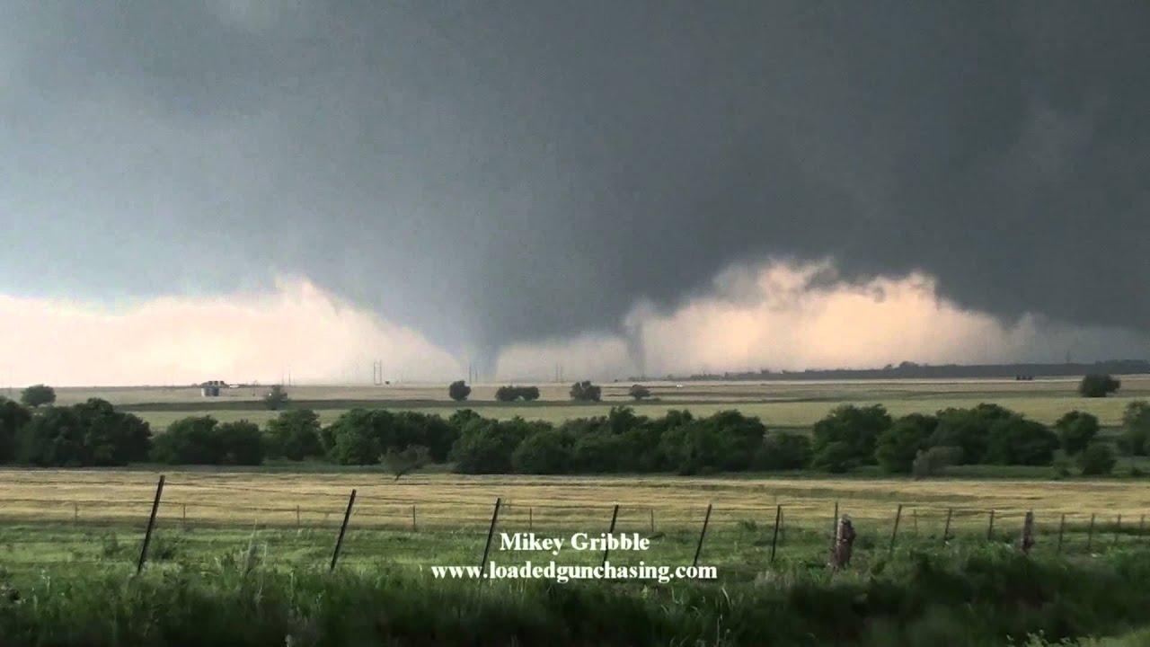 El Reno Oklahoma >> May 31 El Reno tornado hitting storm chaser Mikey Gribble - YouTube