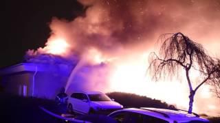 Villabrand i Kvarnby
