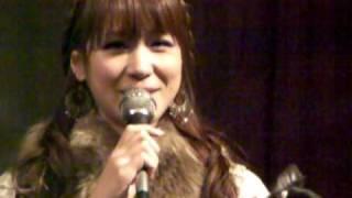 映画「いぬばか」新潟初日舞台挨拶 相沢まき 2010, 01, 09.