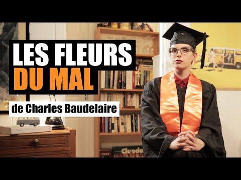 LES FLEURS DU MAL DE CHARLES BAUDELAIRE - MISS BOOK