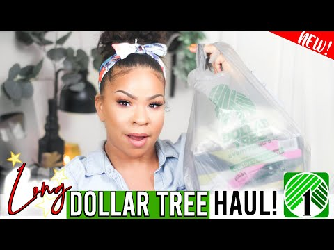 DOLLAR TREE HAUL TONS OF NEW FINDS! What's NEW at the DOLLAR STORE 2019?! Sensational Finds