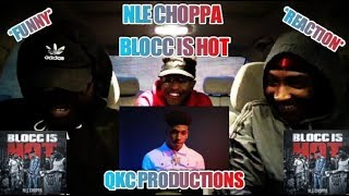 NLE Choppa - Blocc Is Hot (Official Video) Prod. Atljacob Shot By Lakafilms - Reaction