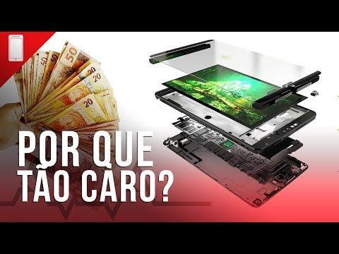 Quanto custa montar um smartphone? Veja porque eles são tão caros no Brasil!