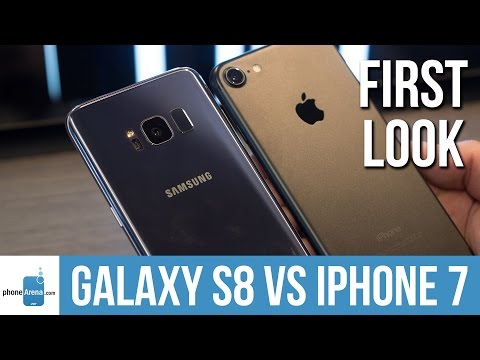 Samsung Galaxy S8 vs Apple iPhone 7: first look