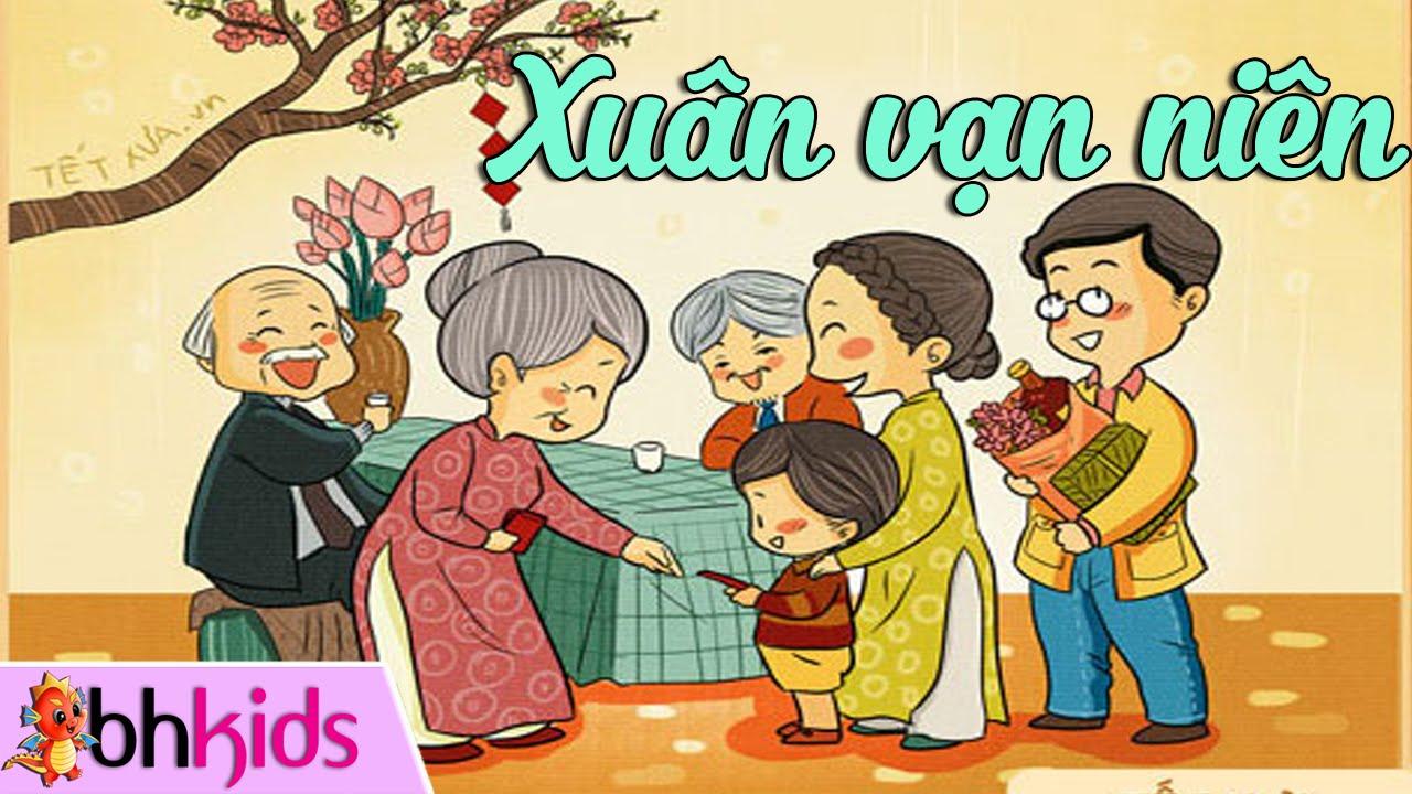 Xuân Vạn Niên - Nhạc Tết Thiếu Nhi Vui Nhộn [Official HD]