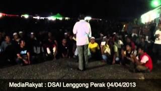 Newsflash: Anwar Ibrahim Di Lenggong Perak 04/04/2013