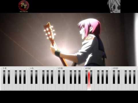 Angel Beats! - My Song - Piano Tutorial - YouTube