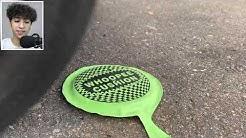 ARABA İLE SERT VE YUMUŞAK ŞEYLERİ EZMEK! (Araba VS Kedi)