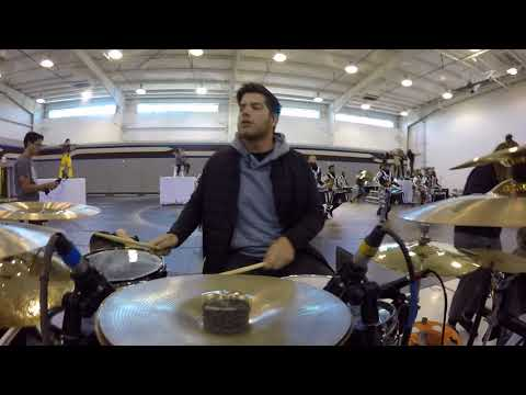 Pulse percussion 2018 Drumset Cam